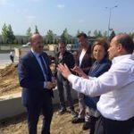 Sultangazi Belediye Başkanımız ile YKB Kemal KARABACAK .Park Açılışı Öncesi  Fikir Alışverişinde bulundu